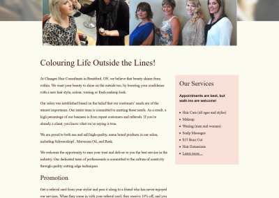 Changes Hair Consultants