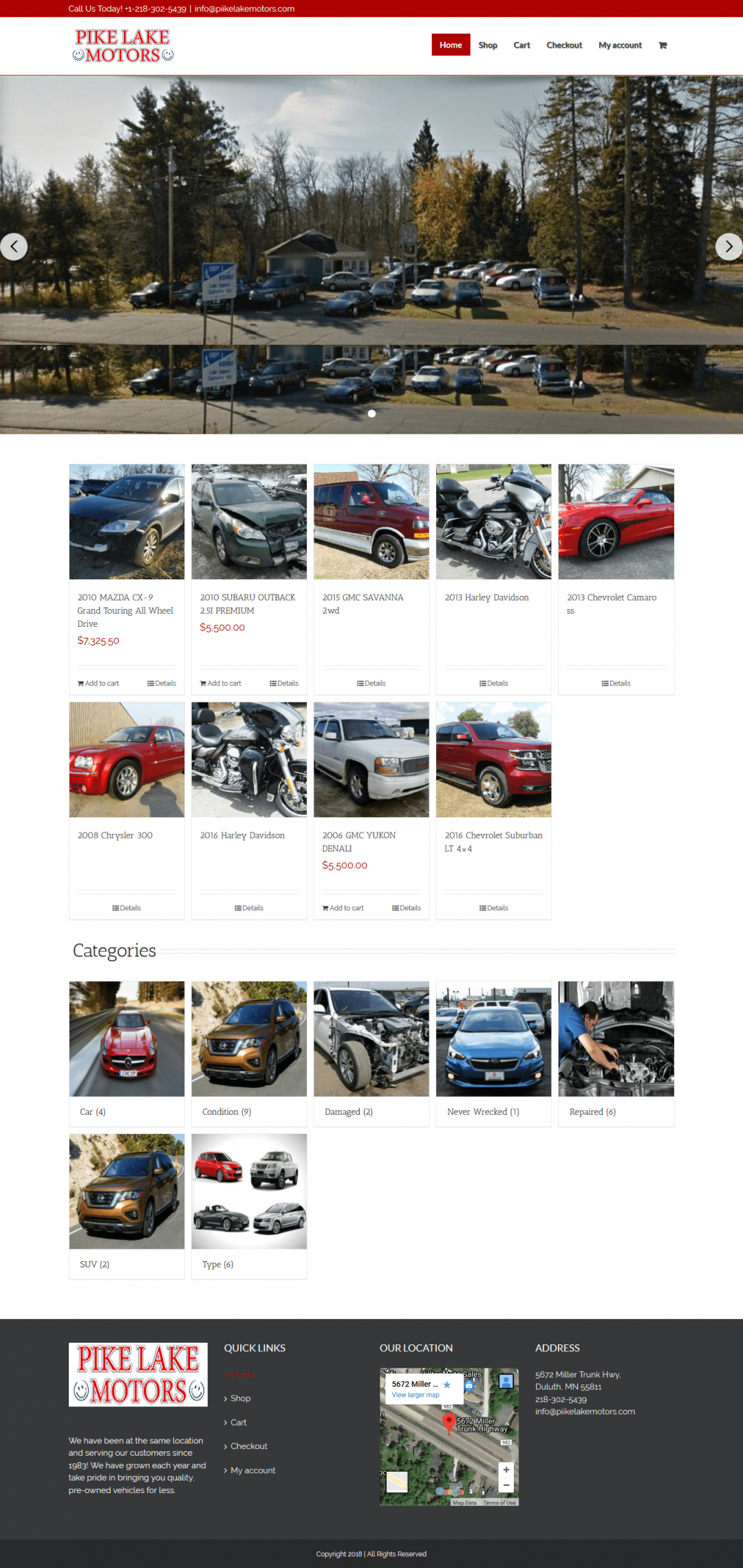 Pike Lake Motors